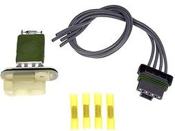 APDTY 084545 Blower Motor Switch Resistor Kit w Wiring Harne