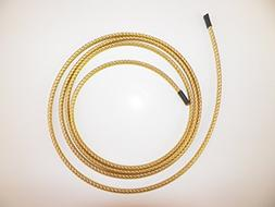"1/4"" BRAIDED BRASS EXPANDABLE FLEX SLEEVE,  WIRING HARNESS,"