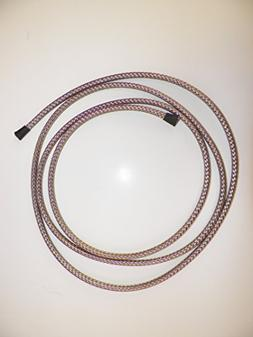 "1/4"" BRAIDED STAINLESS STEAL EXPANDABLE FLEX SLEEVE, WIRING"