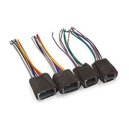 uxcell 4 in 1 Radio Stereo Car CD Player Wiring Harness Sock