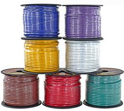 14 Gauge 7 Color Combo Primary Wire | 100 ft per Color  for