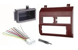 Single Din Dash Kit + Pocket Kit + Wire Harness + Antenna Ad