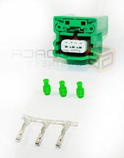 1x Connector 3-way 3 pin for Nissan Camshaft Position Sensor