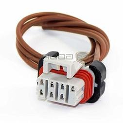 1x Connector 7-way 3 wires for Freightliner Columbia Headlig