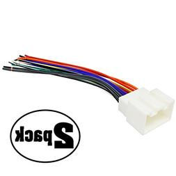 2 Replacement Radio Wiring Harnesses for 2004 Ford F-150 Her