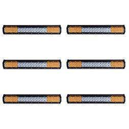 20 Inch Led Light Bar with Amber Cover,Eyourlife 126W 12600L