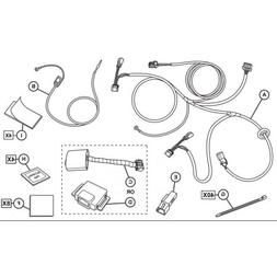 2015-2016 Jeep Renegade Mopar Trailer Tow Wiring Harness - 8