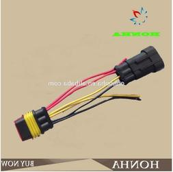 282087 120469 AMP TYCO 3 pin connector <font><b>wire</b></fo