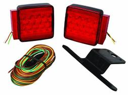 Wesbar 287512 Submersible LED Trailer Light Kit - Under 80""