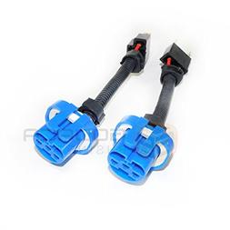 2x H4 9003 to 9007 HB5 Headlight Wiring Conversion Adapter P