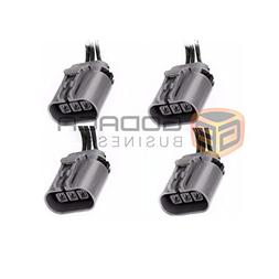 4x 3-way Ignition Coil Pack O2 Sensor Connector Harness Pigt