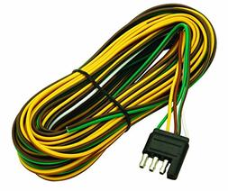 Wesbar 707261 Wishbone Style Trailer Wiring Harness with 4-F