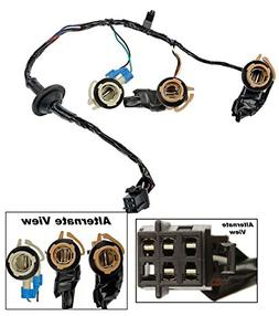 APDTY 034126 Tail Lamp Light Wiring Harness Bulb Connector F