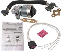 APDTY 112800 EGR Upgrade Kit Includes New EGR Valve, Tube, G
