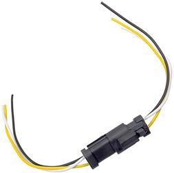 APDTY 133813 3 Wire Universal Weatherproof Wiring Harness Pi