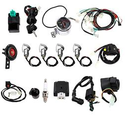 Annpee Full Electric Start Engine Wiring Harness Loom 110cc