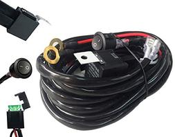 AutoSonic LED Wiring Harness Heavy Duty gauge wire kit for L
