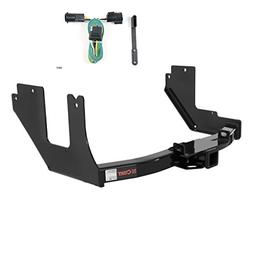 CURT Class 4 Trailer Hitch Bundle with Wiring for 2005 Ford