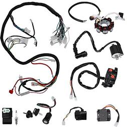 complete electric wiring harness kit wire loom electrics sta