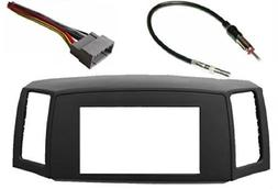 Double Din Navigation Radio Bezel Dash Install Kit with Stan