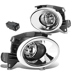 For Nissan Pathfinder R52 Pair of Chrome Cover Clear Lens Bu