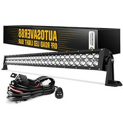 LED Light Bar AUTO 4D 32 Inch Work Light 300W with 8ft Wirin