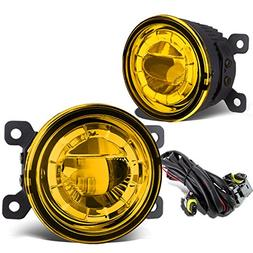 "Pair of 3.5"" Round 2 x 5W LED Projector Bumper Driving Fog L"