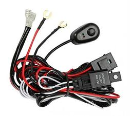 Prime Choice Auto Parts WH840AB Light Bar Wiring Harness Wit