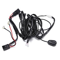 TOMALL Wiring Harness Kit for LED Work Light Bar up to 52/54
