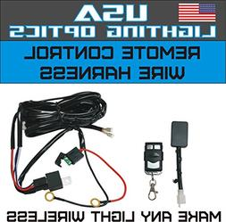 Wireless Remote Control Universal Wiring Harness Off Road AT