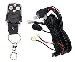 Wiring Harness for LED Light Bar with Remote Control by Glar