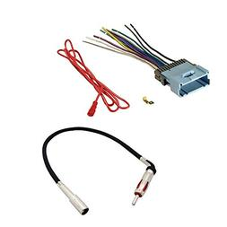 AFTERMARKET CAR STEREO RADIO RECEIVER WIRING HARNESS + RADIO