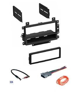 ASC Audio Car Stereo Radio Dash Kit, Wire Harness, and Anten