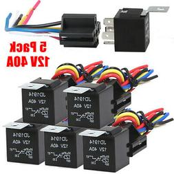 Auto Relays with Wires & Harness Sockets Electrical Replacem