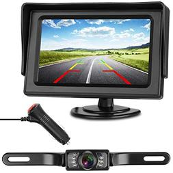 iStrong Backup Camera and Monitor Kit Wire Single Power Supp