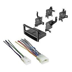 Car Radio Dash Install Mounting Kit Harness For Toyota Yaris