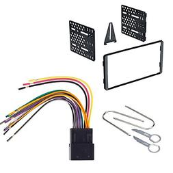 CAR Radio Stereo CD Player Dash Install MOUNTING KIT Harness
