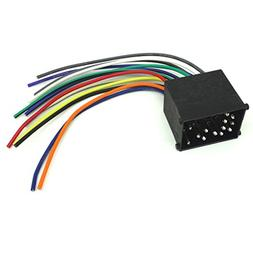 CAR STEREO CD PLAYER WIRING HARNESS WIRE ADAPTER PLUG FOR AF