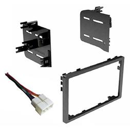 Car Stereo Dash Install Kit and Wire Harness for Installing