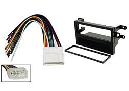 CAR STEREO DASH INSTALL MOUNTING KIT WIRE HARNESS FOR HONDA