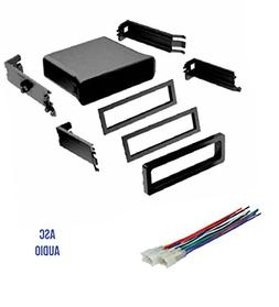 ASC Car Stereo Dash Install Pocket Kit and Wire Harness for