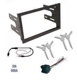 ASC Audio Car Stereo Dash Kit, Wire Harness, Antenna Adapter