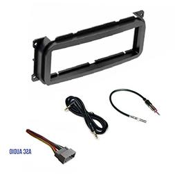 Single Din Car Stereo Dash Kit, Wire Harness, Antenna Adapte