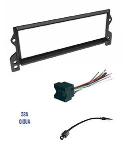 ASC Car Stereo Install Dash Kit, Wire Harness, and Antenna A