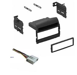 Car Stereo Install Dash Kit and Wire Harness for Installing