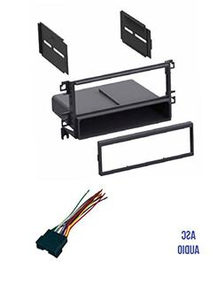 ASC Car Stereo Radio Dash Kit and Wire Harness for installin
