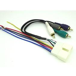CAR STEREO RADIO REPLACEMENT WIRING HARNESS AMP INTEGRATION