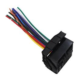 Car Stereo Radio Wiring Harness Plug For Mercedes 2005-2007