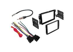 Chevrolet, GMC Stereo Radio Double Din Dash Mounting Install