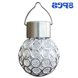 Yocitoy Colorful Solar Lights Ball Outdoor Hanging Decorativ